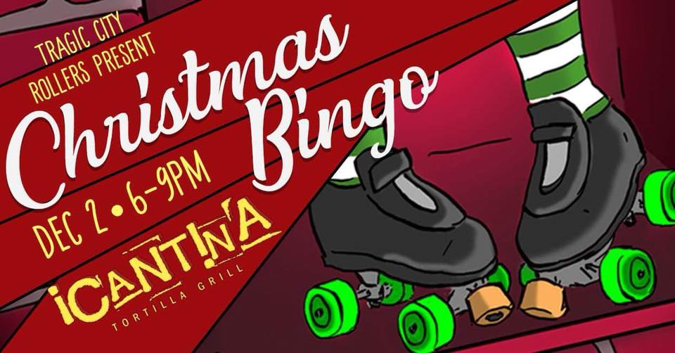 Christmas Bingo with Tragic City Rollers