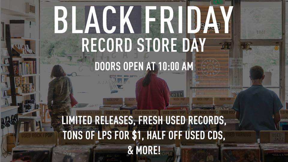 Black Friday at Seasick Records