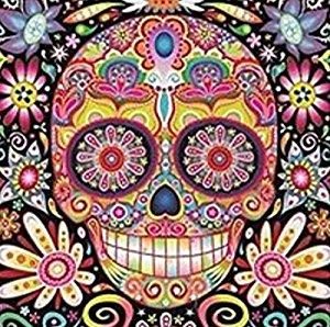 Sugar Skull Artwork Dia de los Muertos