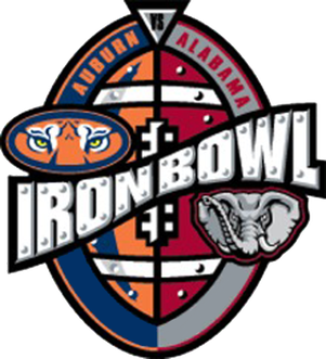 2017 Iron Bowl Logo
