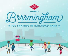 Brrrmingham at Railroad Park