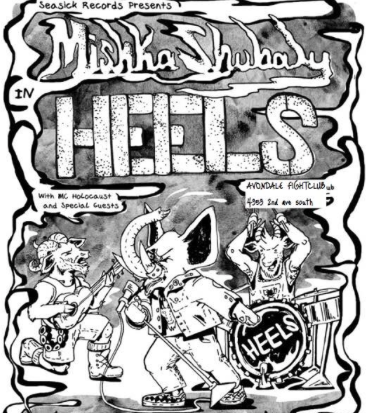 Mishka Shubaly and the Heels
