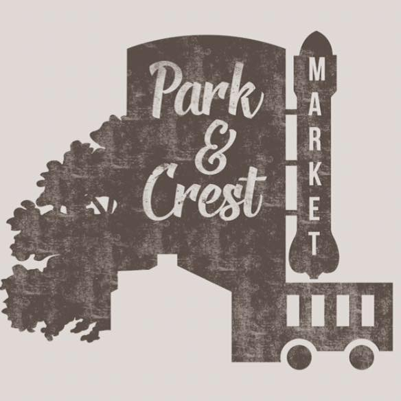 Park and Crest Market Logo