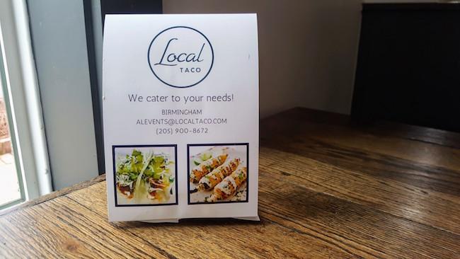 Local Taco Catering Birmingham AL
