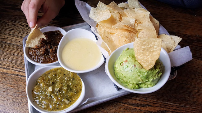 The Trio Chips and Salsa at Local Taco
