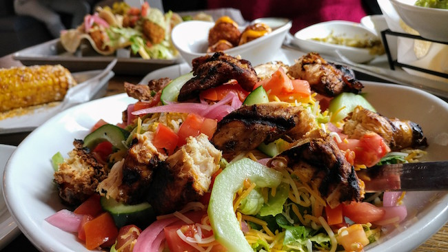 Local Taco Concinero Salad