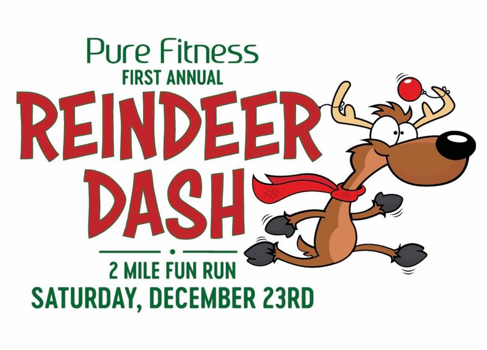 Reindeer Dash by Pure Fitness