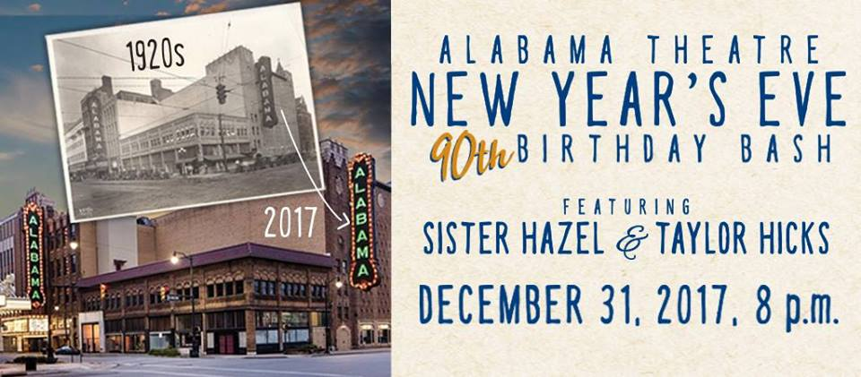 New Years Eve at the Alabama Theatre