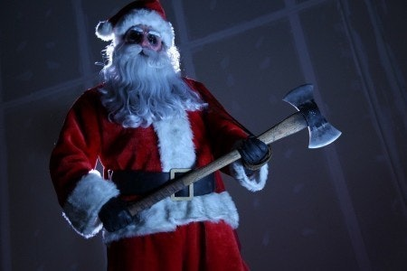 Haunted Holidays at Saturn Birmingham Santa with Axe
