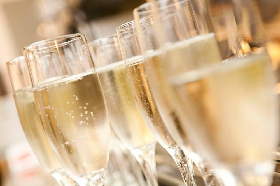 Champagne Glasses NYE