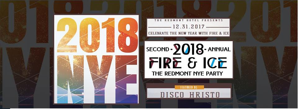 The Redmont Hotel Fire & Ice New Years Eve Party