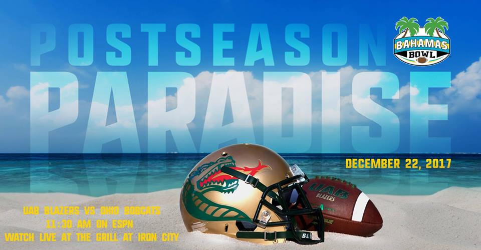 UAB Blazer Bahamas Bowl Party