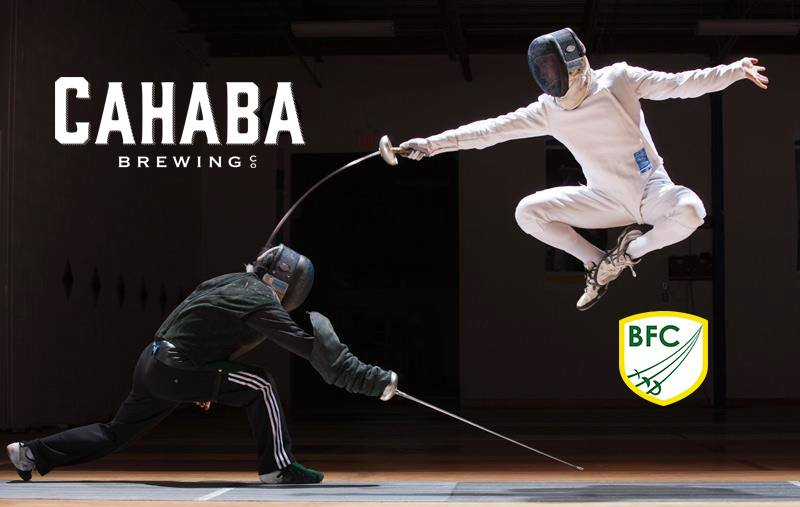 Fencing at Cahaba Brewing Co.