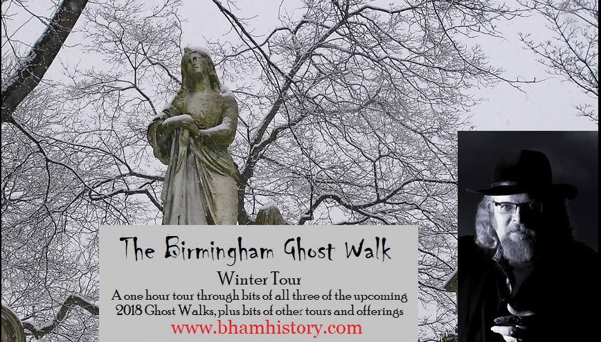Birmingham Winter Ghost Walk