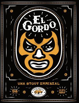 El Gordo Beer by Good People Brewing Co.