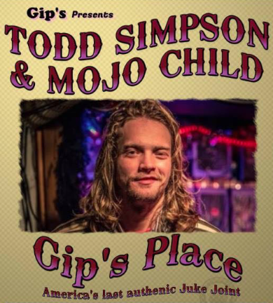 Todd Simpson Mojo Child at Gips Place