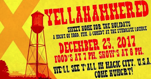 Yellahammered Home for the Holidays