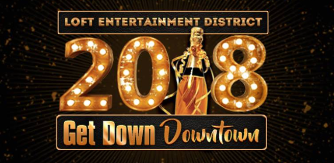 Get Down Downtown Birmingham NYE Loft District Party