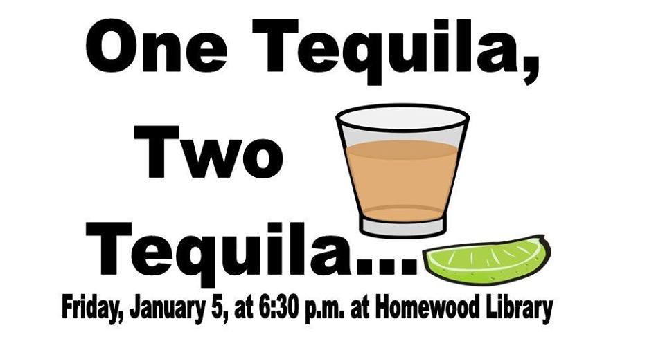 Tequila Night at Homewood Library