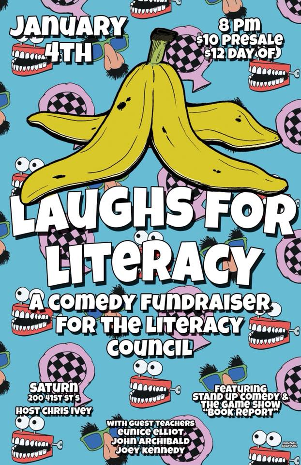 Laughs for Literacy Birmingham