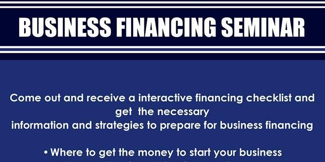 Business Financing Seminar