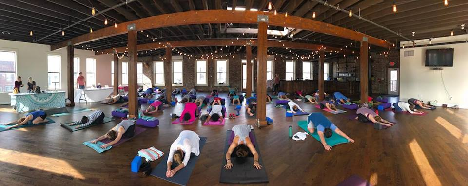 Vin Yin Flow Yoga at Avondale Brewing Co.