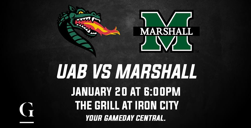 UAB vs Marshall at Iron City Birmingham