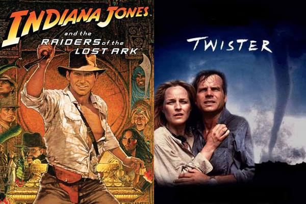 Indiana Jones and Twister Posters