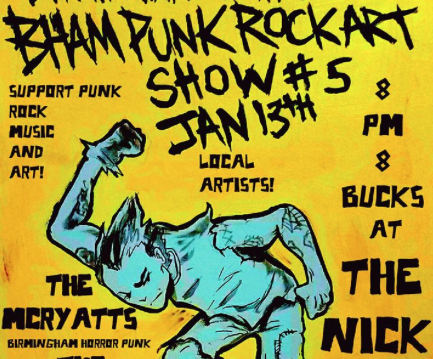 Bham Punk Rock Art Show #5