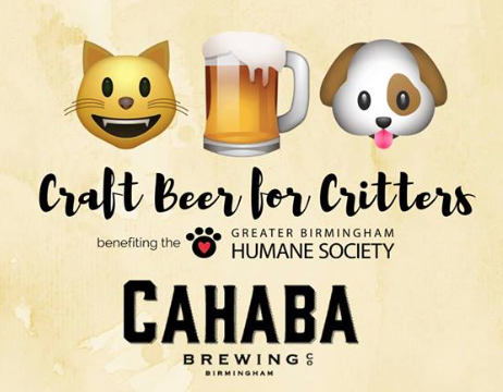 Craft Beer for Critters at Cahaba Brewing Company
