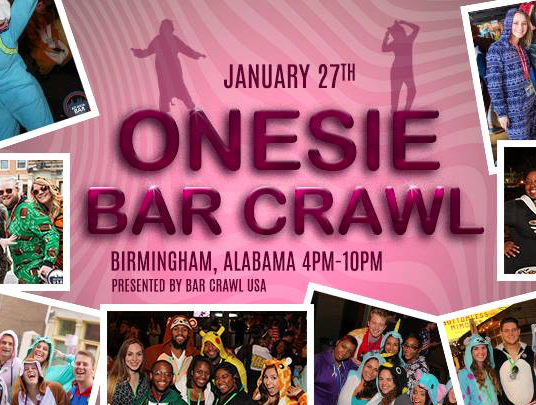 Onesie Bar Crawl Birmingham