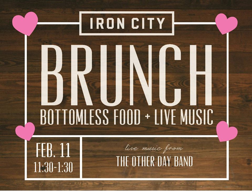 Iron City Bham Sweetheart Brunch