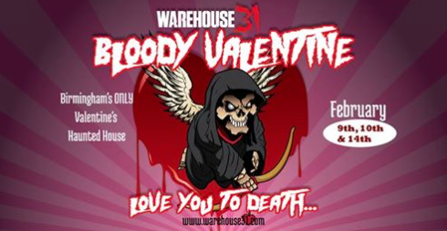 Warehouse 31 Bloody Valentine