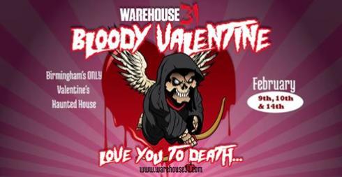 Warehouse 31 Bloody Valentine