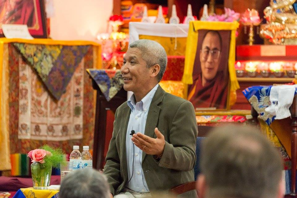 Dr. Thupten Jinpa Gives a Talk on Compassion