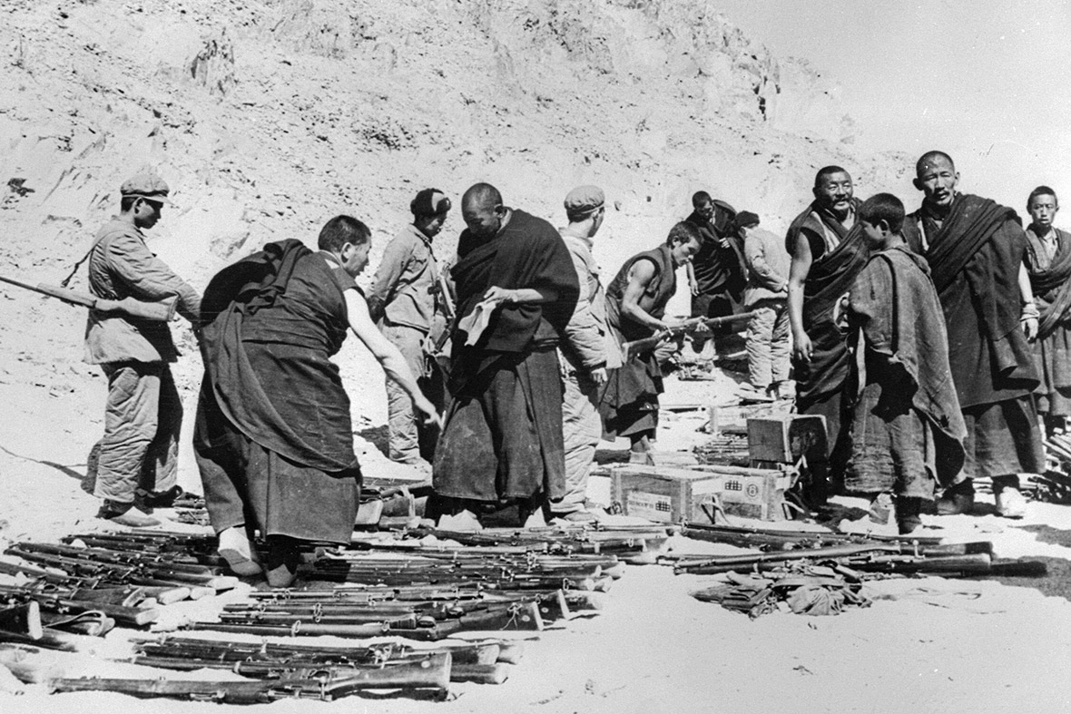 The end of the 1959 Tibetan Uprising