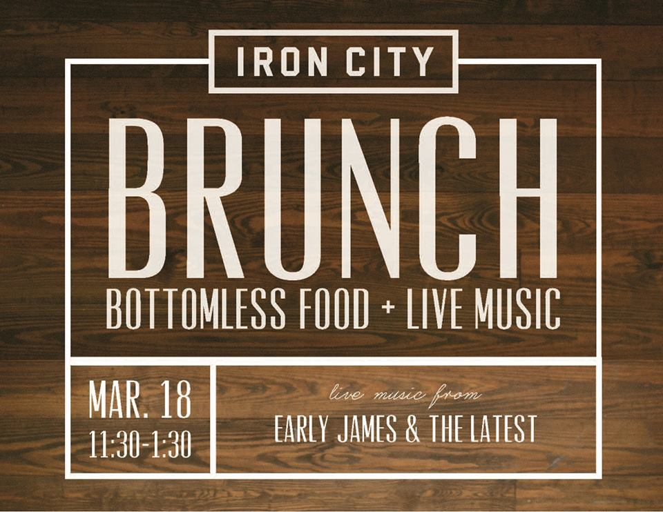 Iron City Grill Bottomless Brunch