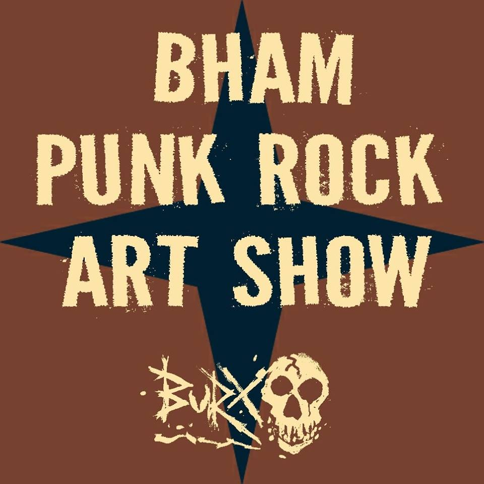 BHAM Punk Rock Art Show
