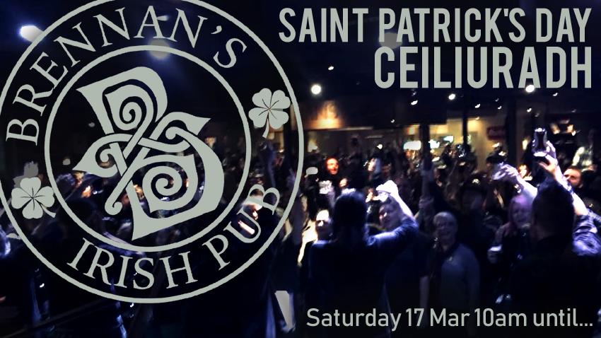 St. Patrick's Day Ceiliuradh at Brennan's Irish Pub