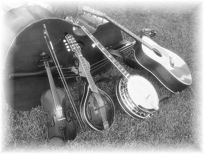Photo of Banjo Guitar Fiddle and Mandolin