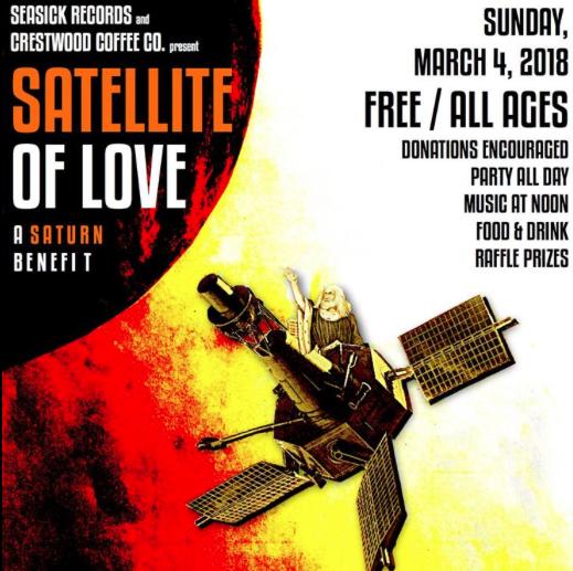 Satellite of Love Fundraiser for Saturn