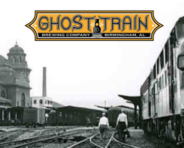 Ghost Train Brewing Co Logo