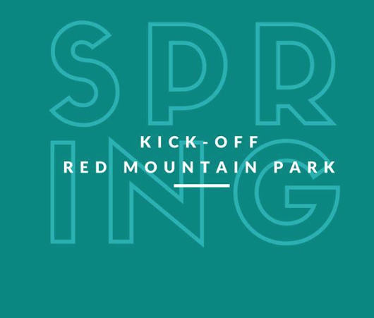 Spring Kick-off at Red Mountain Park
