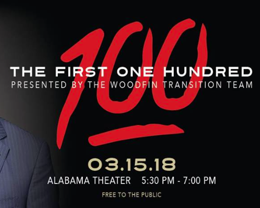 First 100 Days Randal Woodfin