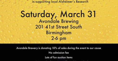 Ales for Alzheimer's