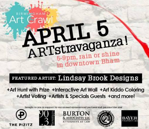 Art Crawl April 2018