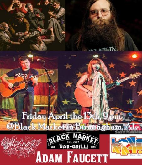 Friday the 13th at Black Market Bar 5pts