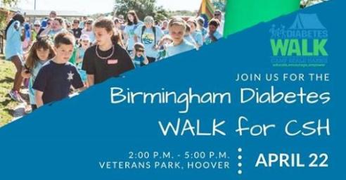 Diabetes Walk Birmingham
