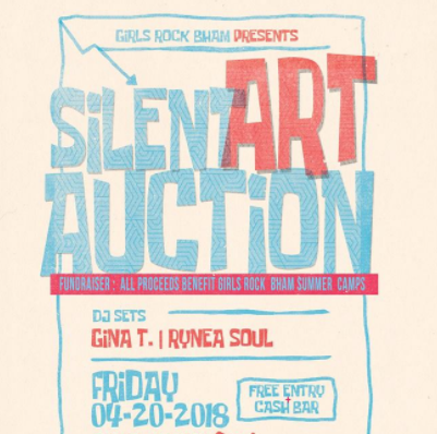 Girls Rock Art Auction
