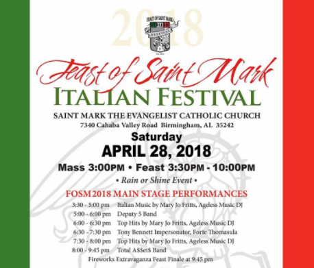 Feast of St. Marks Food Festival